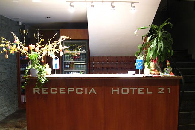 Hotel 21, Bratislava, Dovolenka na Slovensku