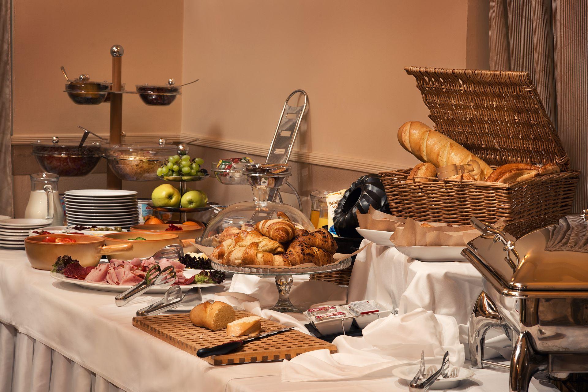 Hotel Ambassador Kosice restauracia ranajky